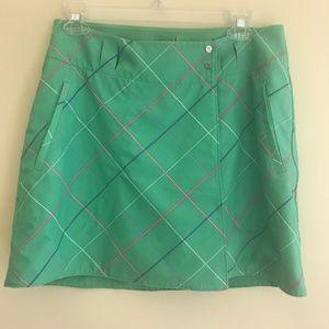 Nike reversible golf skirt